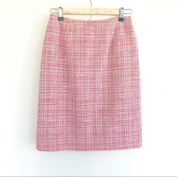 3885022af4 Buckley A Skirts | Bentley A Pink Tweed Skirt Size 4 Euc | Poshmark